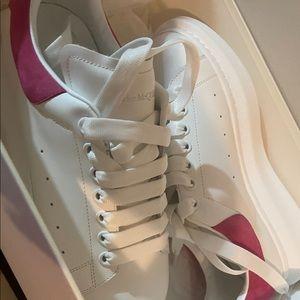 Pink Alexander mc queens, size 41